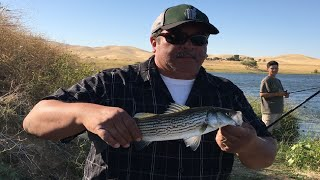 California Fishing Trip to Mendota, San Joaquin River, Los Banos, San Luis Reservoir - Vid 2of3