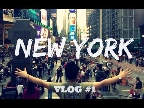 "Vlog USA #1 : Central Park, Times Square (Disney Store + Toys""R""Us)"