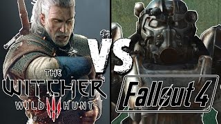 The Witcher 3 vs Fallout 4 - Best Open World RPG of 2015