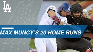 Max Muncy is fastest Dodgers to hit 20 home runs