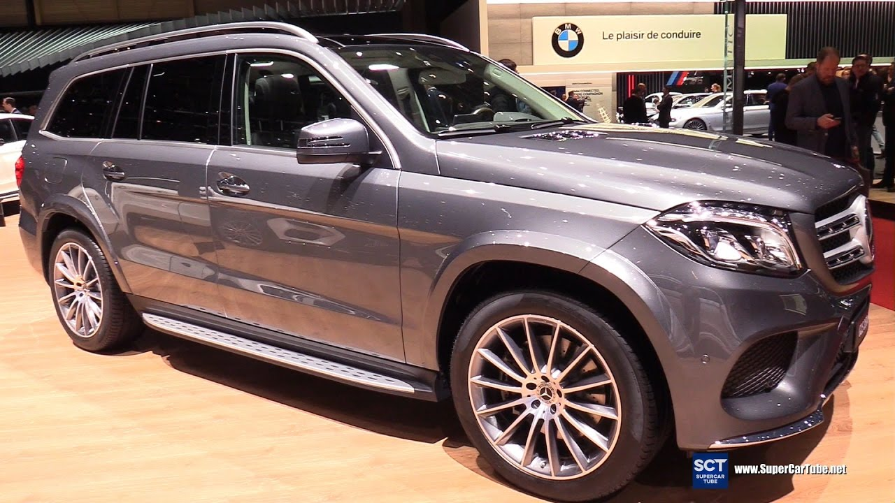 2017 mercedes benz gls class gls 350d 4matic exterior for 2017 mercedes benz gls350d 4matic