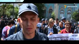 В Киеве во время ликвидации пожара погиб спасатель