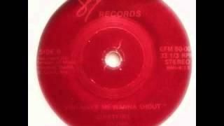 Quietfire You Make Me Wanna Shout 12 Inch Mix 1980