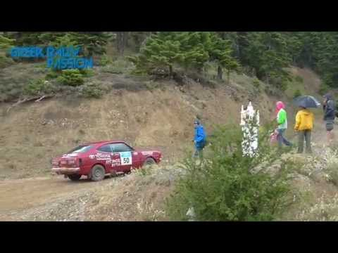 13th Historic Rally Acropolis 2014 - TOYOTA COROLLA TE35