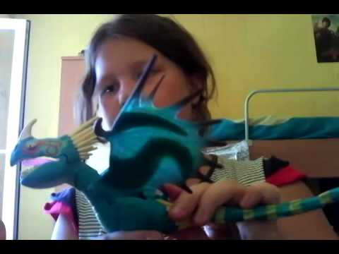 Как приручить дракона игрушки - YouTube