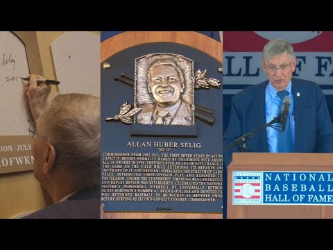 A look back at Bud Selig's Hall of Fame weekend