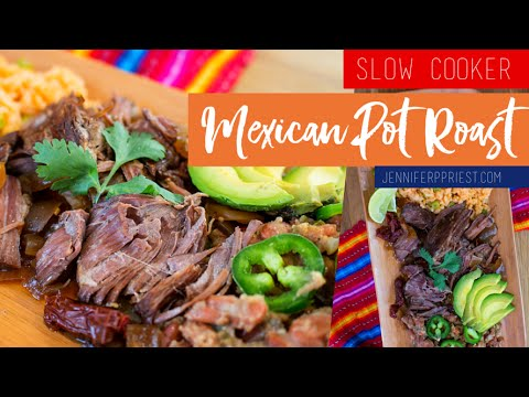 Slow Cooker Mexican Pot Roast Recipe