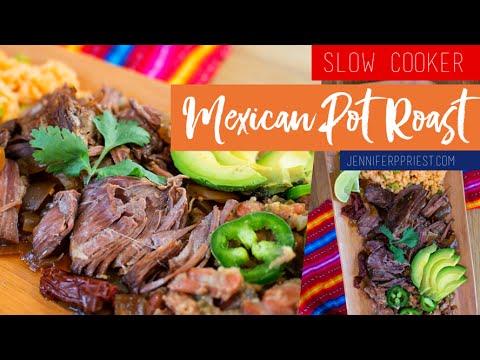 Slow Cooker Mexican Pot Roast Recipe