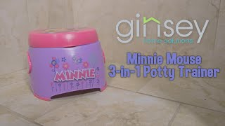 Ginsey Disney Minnie Mouse 3 in 1 Potty Trainer