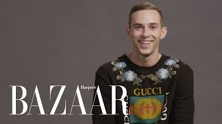 Adam Rippon Tests His Knowledge of the Rink vs. The Runway | Harper