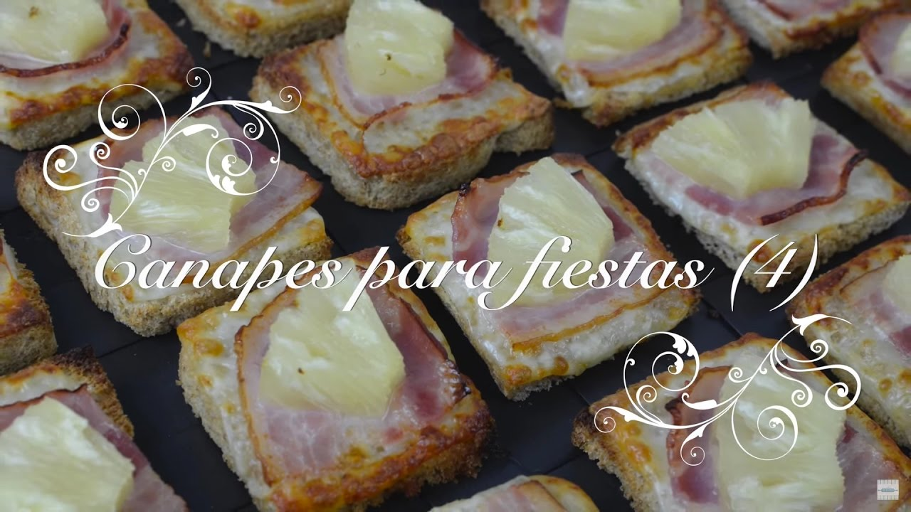 Canapes para fiestas 4 canapes faciles y baratos for Canapes sencillos y rapidos