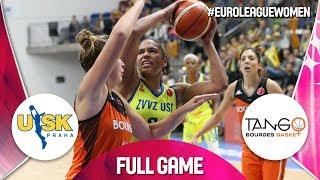 ZVVZ USK Praha v Bourges Basket - Full Game - EuroLeague Women 2019