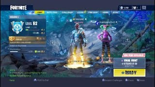 Fortnite with friends and randoms