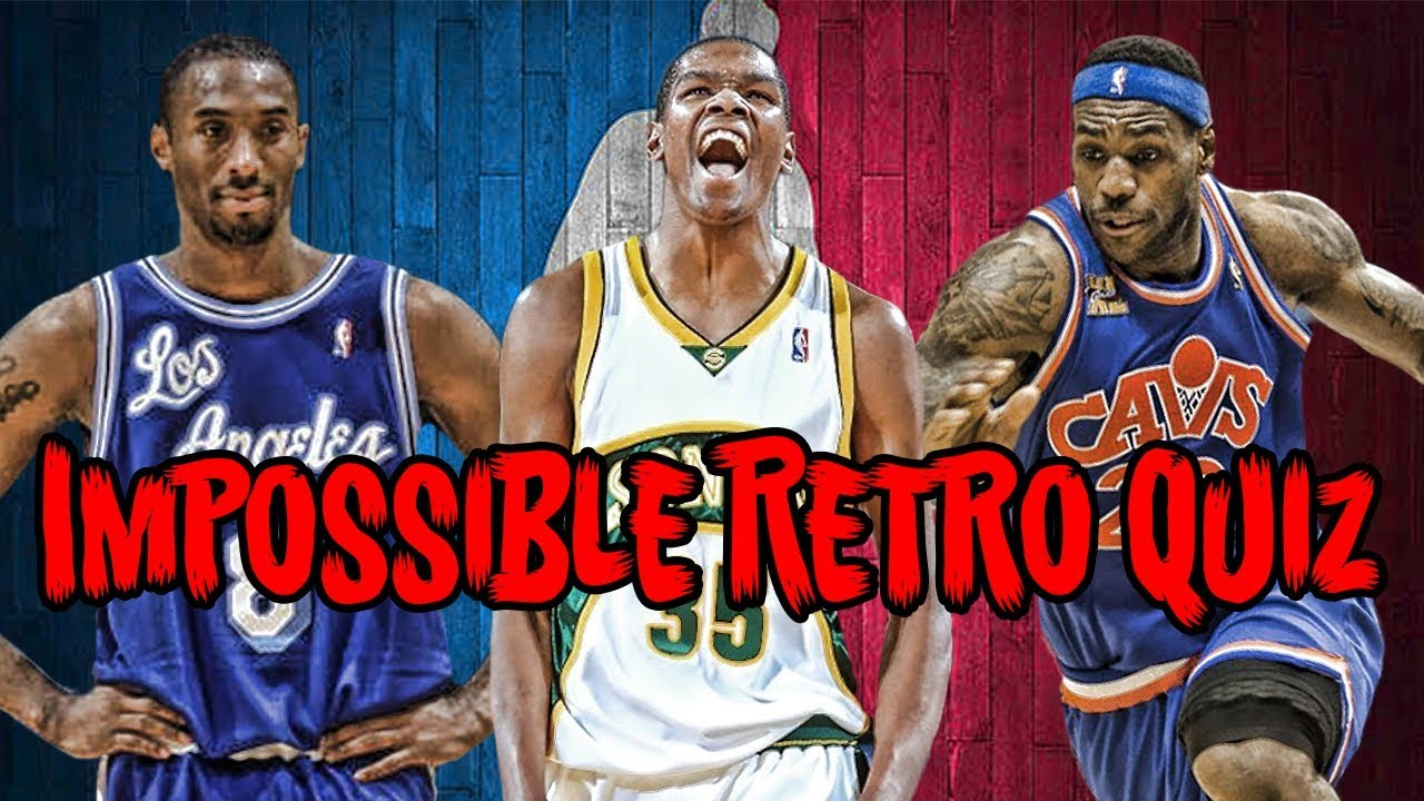 d12eb1660 Can YOU Name Every NBA Throwback Jersey  - YouTube