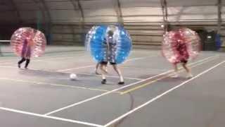 Bubble Football Funny Video