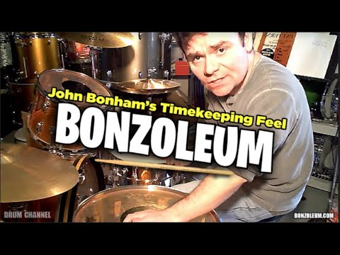 John Bonham's TIMEKEEPING & FEEL  Led Zeppelin Drumming