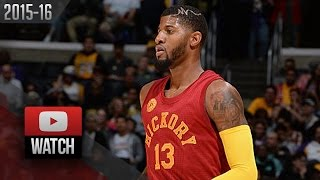 Paul George Full Highlights at Lakers (2015.11.29) - 39 Pts, SICK!