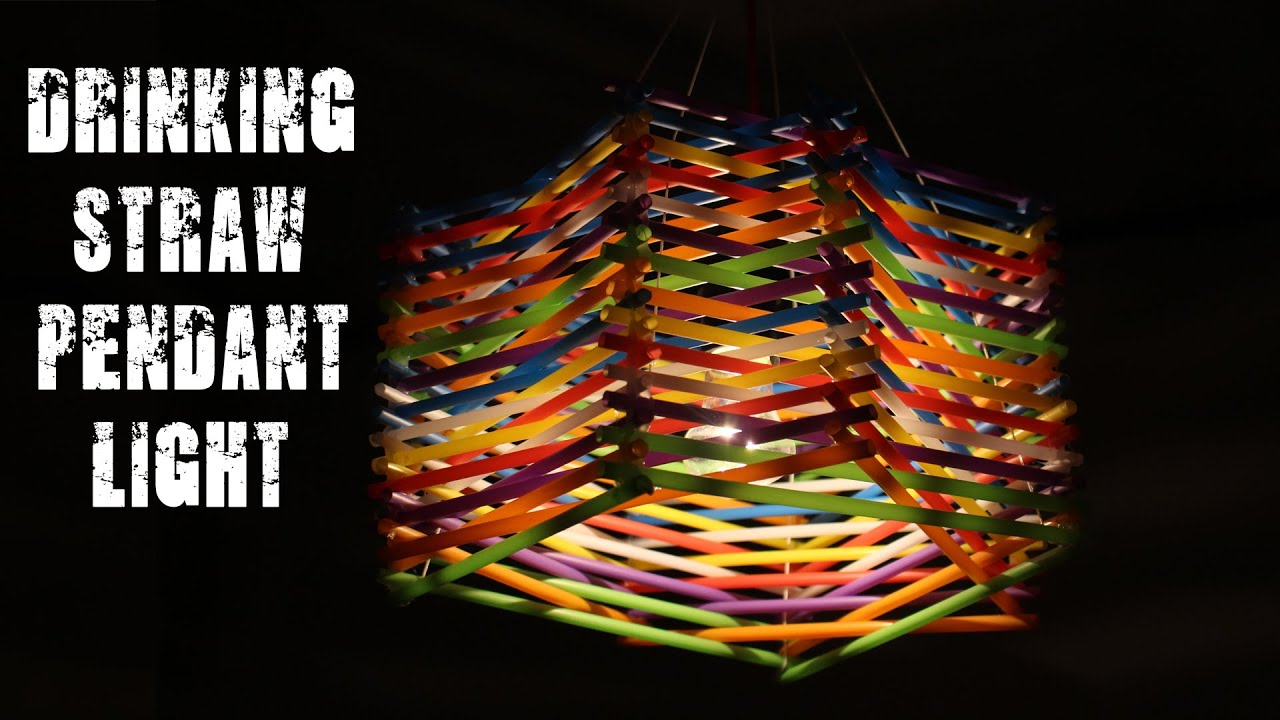 DIY Life Hacks With Drinking Straws - YouTube for Straw Lantern  117dqh