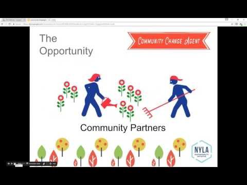 Community Change Agents Info Session