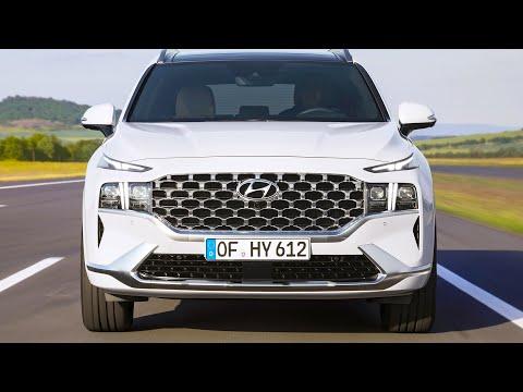 2021 Hyundai Santa Fe – Interior and Exterior Details – Ready to fight the VW Tiguan?