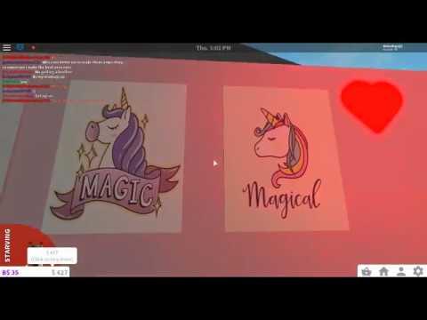 Aesthetic Kawaii Unicorn Decal Id S For Bloxburg Youtube
