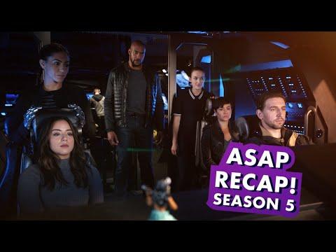 Marvel's Agents of S.H.I.E.L.D. Season 5 Recap | Earth's Mightiest Show