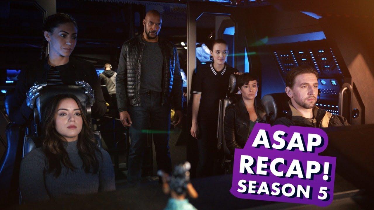 Marvel's Agents of S H I E L D  Season 5 Recap   Earth's Mightiest Show