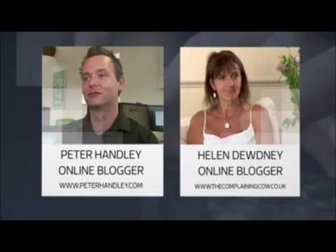 Deliveries ITV news with Martin Lewis, Helen Dewdney & Peter Handley
