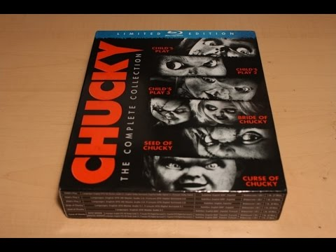 Chucky: The Complete Collection - Limited Edition Blu-ray Unboxing