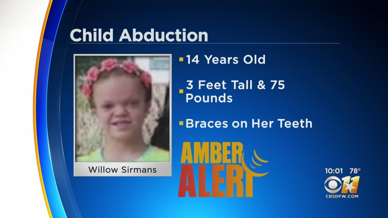 Amber Alert Issued For 14-Year-Old Girl In Van Zandt County