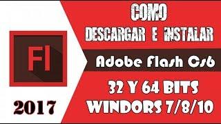Descargar adobe flash cs6 full español para windows 7,8,10 32 y 64 bits