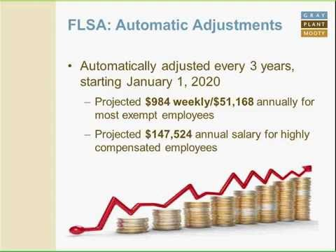 The Final DOL Rule on FLSA Exemptions - GPM Employment Law Briefing