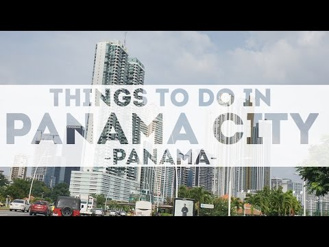 Panama City Panama in 4K Tourist Attractions