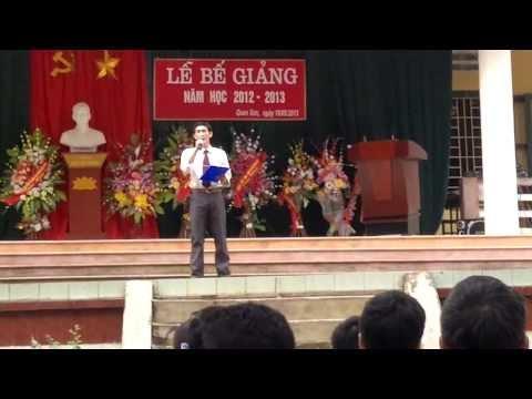 Chương Trình Văn Nghệ Lễ Bế Giảng THPT Quan Sơn 2013