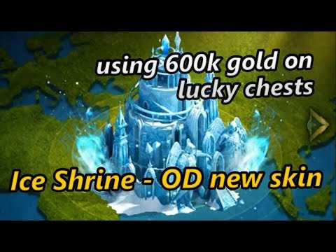 [Spending Spree] 600k Gold To Get The New Ice Shrine - OD New Skin