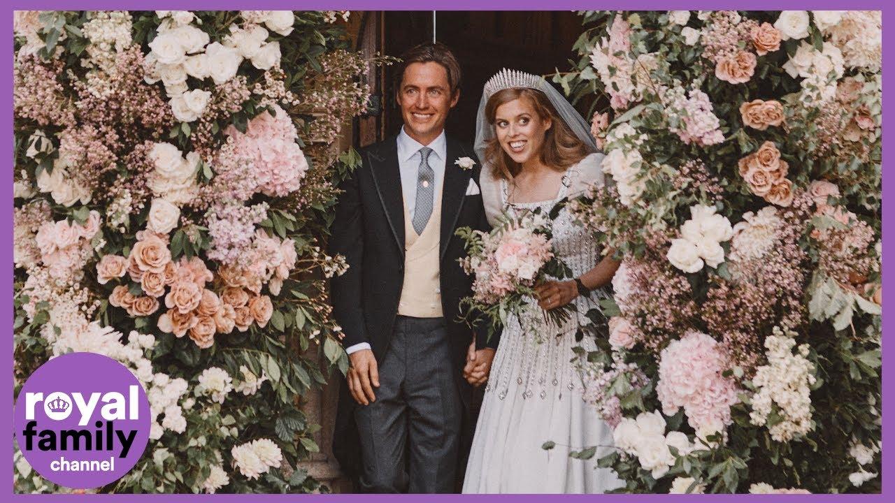 UK Royal Princess Beatrice shares wedding photos