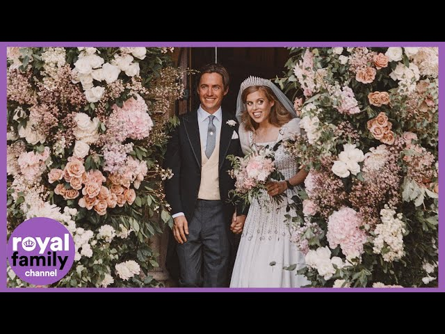 Newly Married Princess Beatrice and Edoardo Mapelli Mozzi Share New Pictures From Wedding Day - The Royal Family Channel