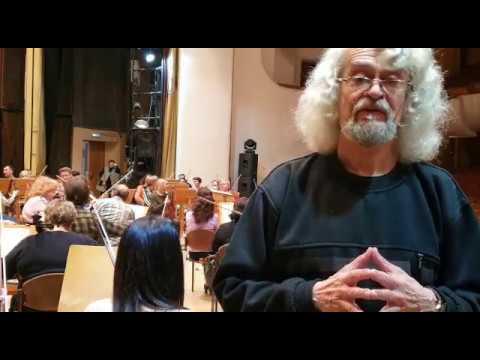 Репетиция Симфонического оркестра Самарской филармонии Группа струнных Д. Шостакович. Симфония №7 Ч1