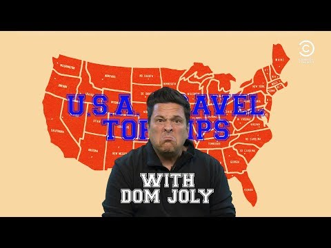 USA Travel Top Tips With Dom Joly | Comedy Central UK