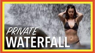 PRIVATE WATERFALL | Puerto Rico Rainforest