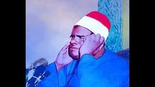 فضيله القارئ  الشيخ عنتر سعيد مسلم آخر سورة النمل  اول القصص