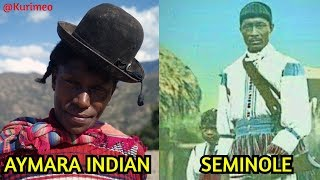 How the American Indian became African American