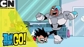 Teen Titans Go! | The Titans Deal With Robin | Cartoon Network UK 🇬🇧