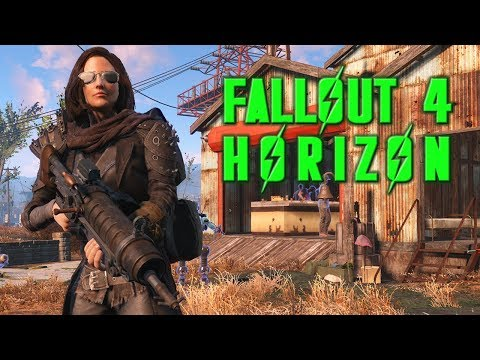Playing around with Architect update for Fallout 4 Horizon! (Live)