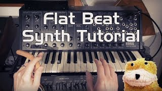 Flat Beat Synth Tutorial (Korg MS-20)