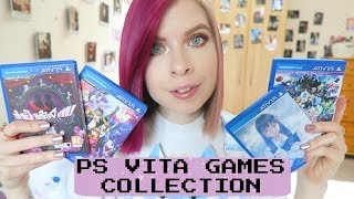 MY PS VITA GAMES COLLECTION + RECOMMENDATIONS! // Kawaiikaty