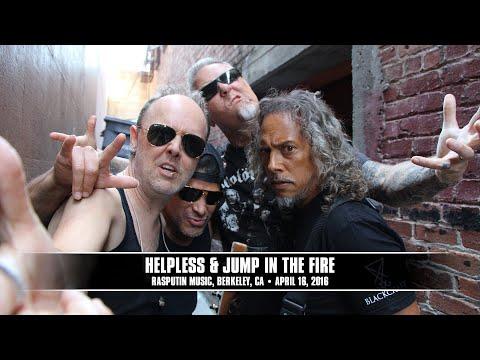 Metallica: Helpless \u0026 Jump in the Fire (MetOnTour - Berkeley, CA - 2016)