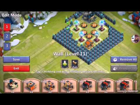 Castle Clash ITA- TH 15 BEST CORNER BASE