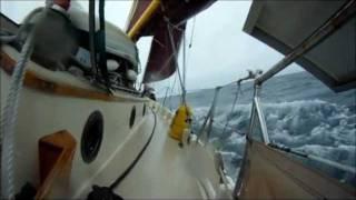 OSQ: Offshore Sailing To Nova Scotia w/ Kite Cam KAP