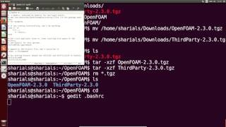 Building and installing OpenFOAM® 2.3.0 on Ubuntu 14.04 from source